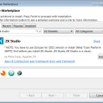 zk framework eclipse marketplace